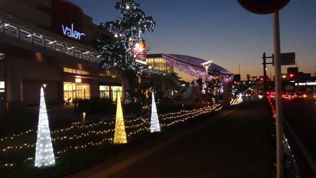 刈谷站周圍彩燈