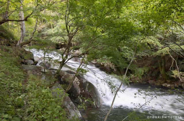 保殿の七滝