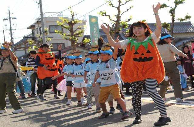 いくよ~!!ハロウィンパレード【入選】