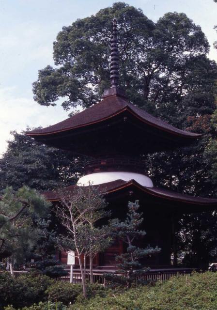 多宝塔(萬徳寺)