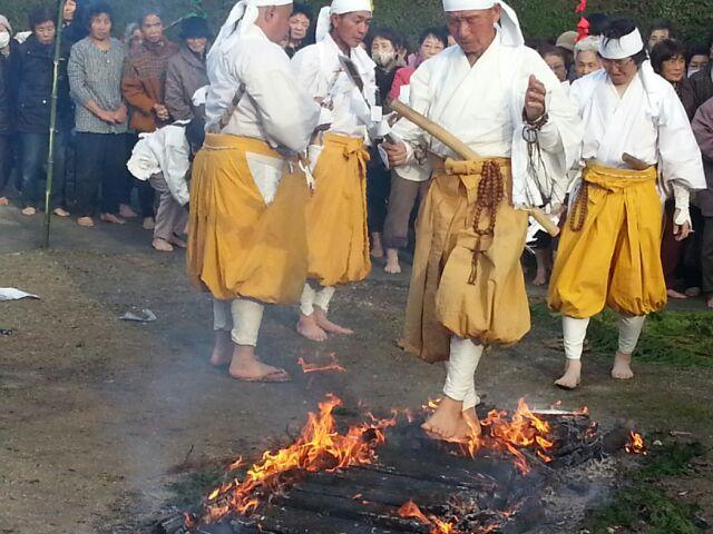 地蔵寺の火渡り仏事