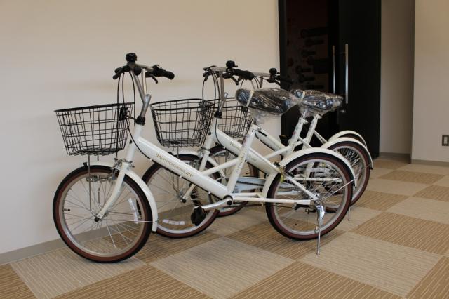 蟹江町観光交流センター祭人 レンタル自転車