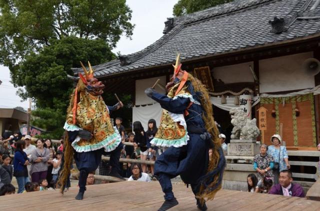 【2020年度中止】藤江神社のだんつく獅子舞