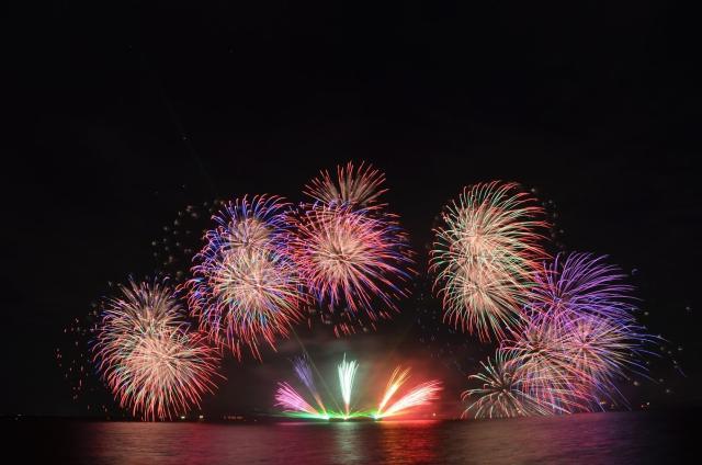 元気の出る花火大会 in MIHAMA トップPresents ビッグバン