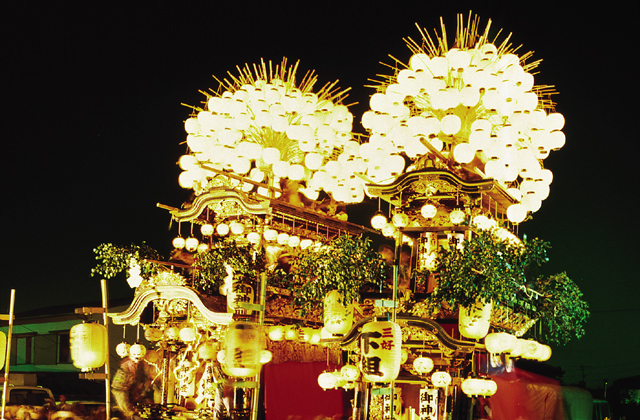三好八幡社秋の大祭
