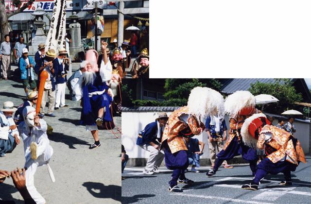 笹踊り・七福神踊り
