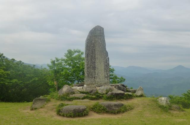 阿坂城跡(白米城跡)ハイキングコース