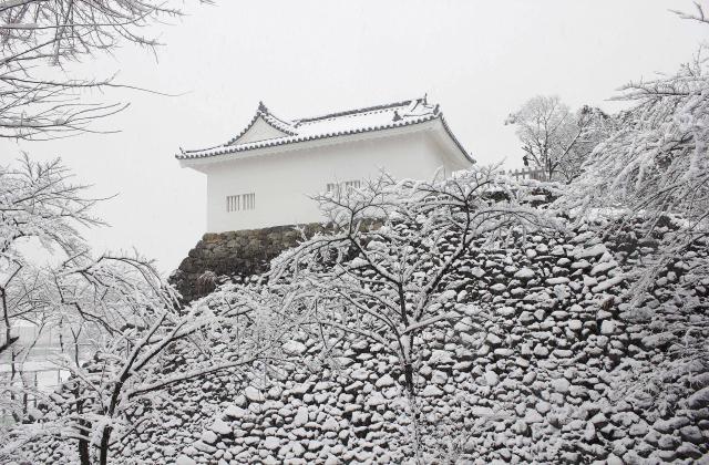 亀山城跡(三重県亀山市)