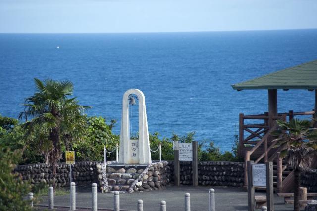 磯笛岬展望台(ツバスの鐘)