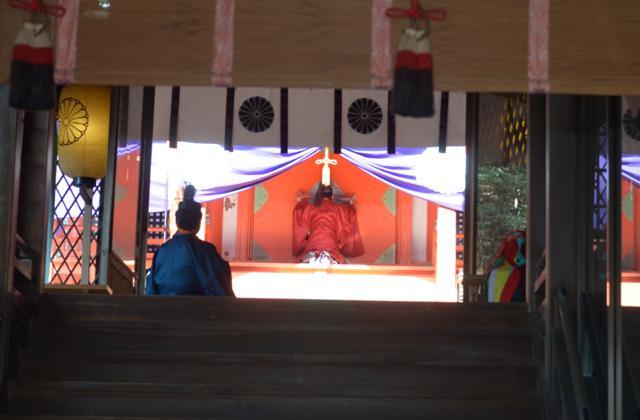 敢国神社御祭