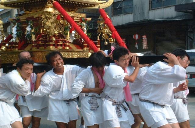 阿下喜八幡祭