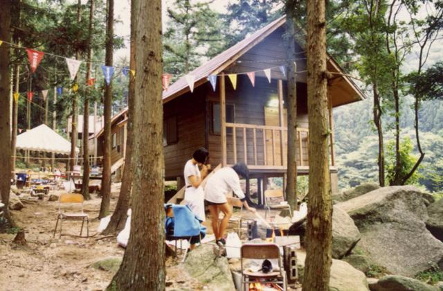 鳥居道山キャンプ場