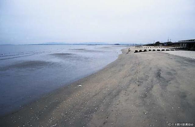 香良洲浦海岸