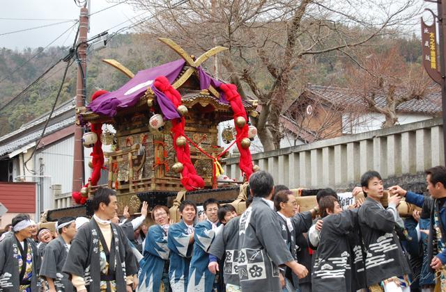 秋葉祭(滋賀県長浜市)
