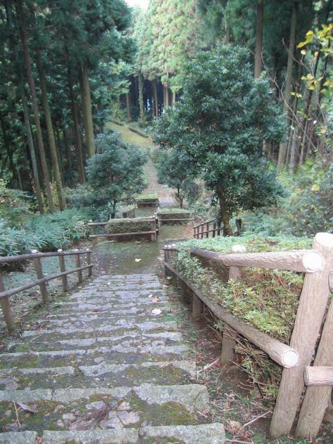 ナンダ坂狛坂石段
