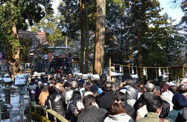 Tamura-jinja Shrine Yakuyoke Festival (Tamura Festival)★25213ba2212053851