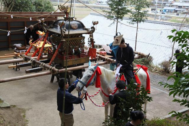 椿神社・流鏑馬