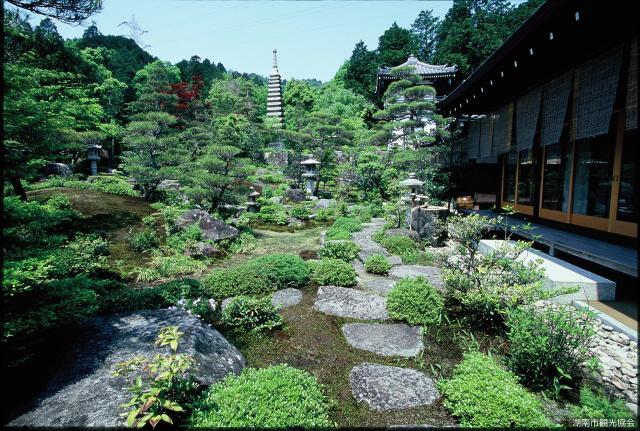 西應寺庭園