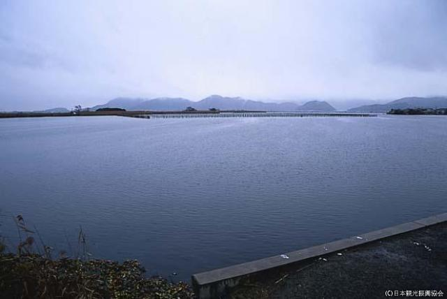 安土八幡的水鄉