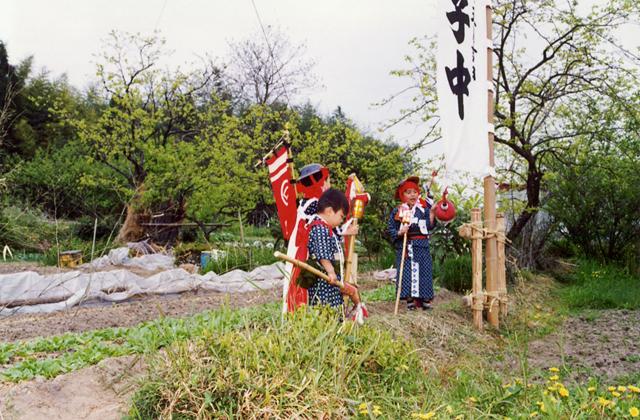 今市の竹馬祭