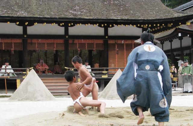 重陽神事と烏相撲
