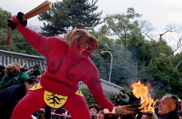 Tsuina-shiki Onihoraku (ceremony of chasing demons out)★26100ba2212053855