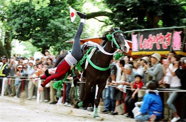 藤森祭駈馬神事