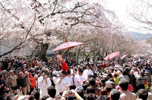【2021年開催中止】豊太閤花見行列