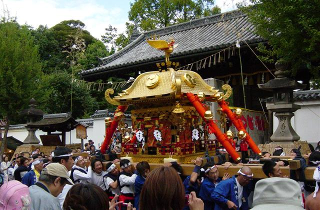香神社神幸節