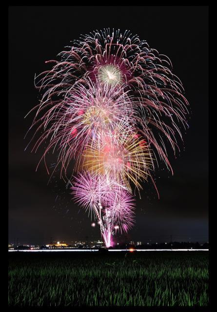 亀岡平和祭 保津川市民花火大会