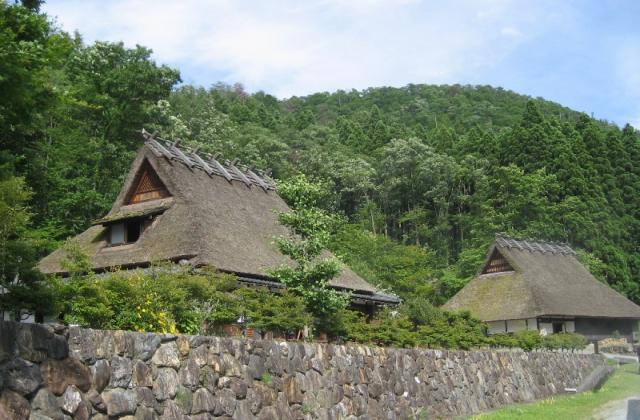 美山かやぶき美術館・郷土資料館
