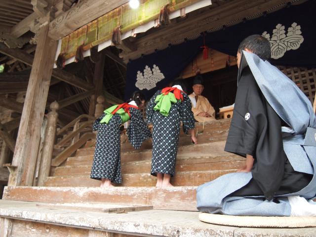 摩気神社御田植祭