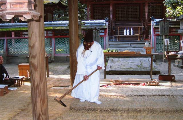 御田(相楽神社)