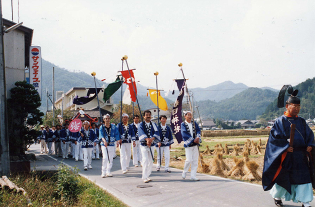 春日神社秋祭(南丹市)