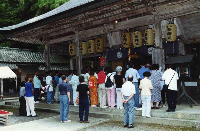 京都皇帝釋天、秋天的大祭