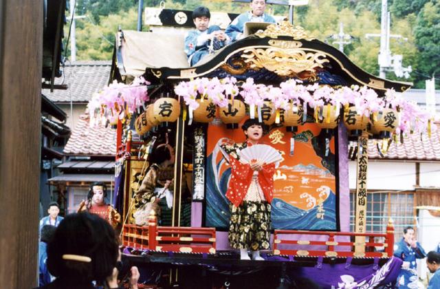 Ushirono Yatai floats Event