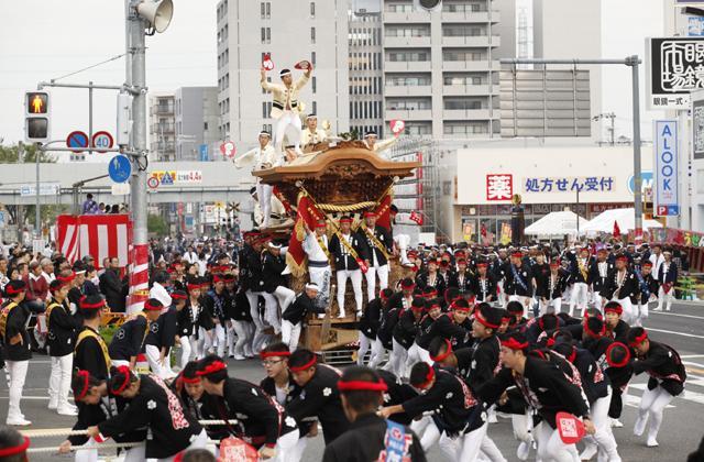 岸和田だんじり祭(10月祭礼)