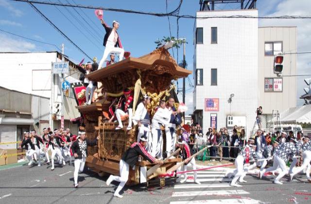 貝塚だんじり祭