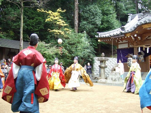 阿為神社蹴鞠の会
