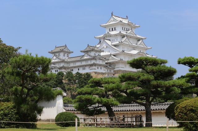 姫路城(西の丸から)