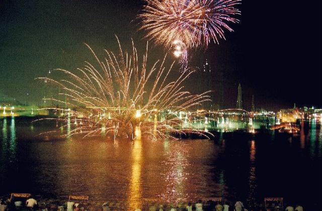 姫路みなと祭 海上花火大会