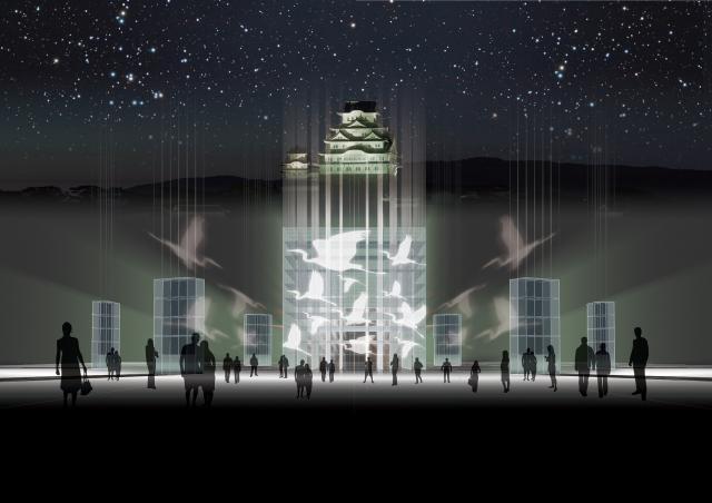 世界遺産登録25周年 姫路城 光の庭 CASTLE OF LIGHT