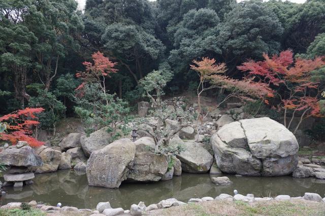 名勝 旧益習館庭園