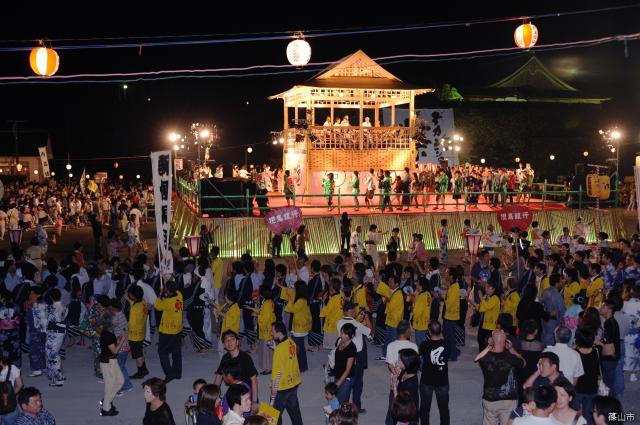 【2020年中止】丹波篠山デカンショ祭