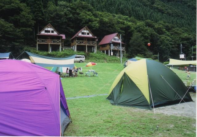 くるみの里コテージ、キャンプ場