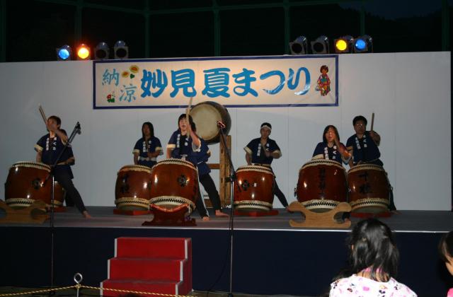 Myouken summer festival