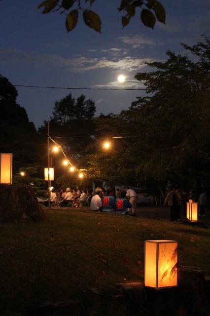 龍野観月の夕