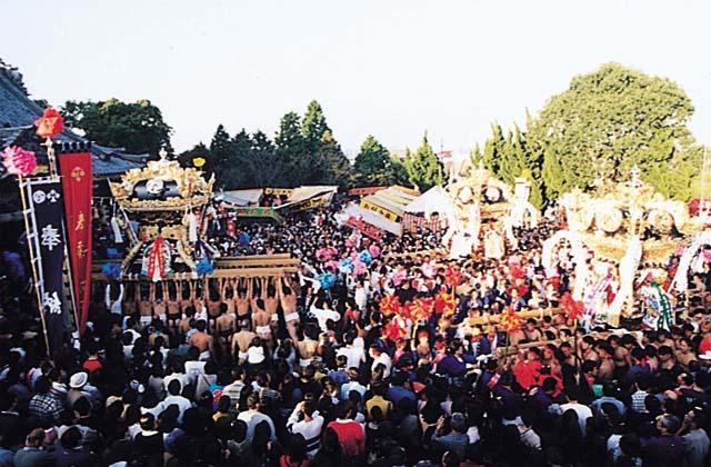富嶋神社秋祭り