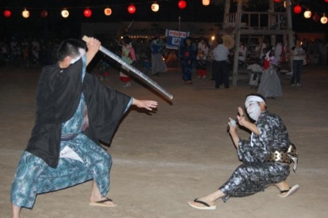 射添地区伝統芸能(盆踊り・芸踊り)大会