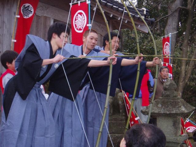 百手の儀式